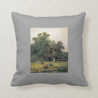 Ivan Shishkin- Gathering Mushrooms Pillows