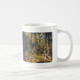 Ivan Shishkin- Mixed Forest. Shmetsk Near Narva Classic White Coffee Mug