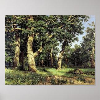 Ivan Shishkin- Oak Grove Print