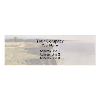 Ivan Shishkin- On the Shore of the Gulf of Finland Business Card Templates