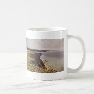 Ivan Shishkin- On the Shore of the Gulf of Finland Classic White Coffee Mug