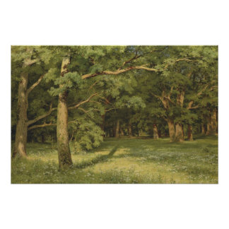 Ivan Shiskin The Forest Clearing CC0350 Poster