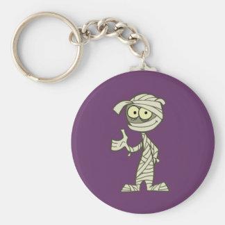 Ivan T. Mummy Basic Round Button Keychain