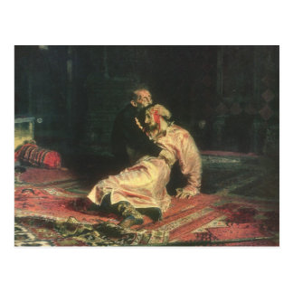 Ivan The Terrible And His Son Postcard