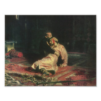 Ivan The Terrible And His Son Poster