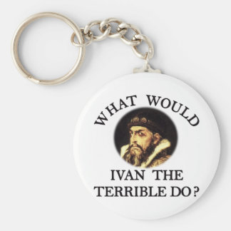 Ivan the Terrible Keychain