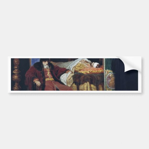 Ivan The Terrible Near The Body Of His Son Whom Bumper Stickers