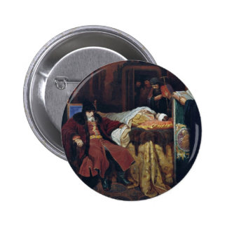 Ivan The Terrible Near The Body Of His Son Whom Pinback Button