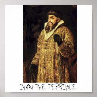 IVAN THE TERRIBLE POSTER
