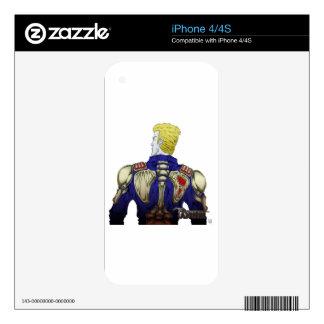 Ivan w/ Skeleton Jacket iPhone 4 Skins
