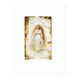 Ivanhoe de la ópera inglesa real postales