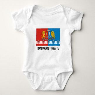 Ivanovo Oblast Flag Baby Bodysuit