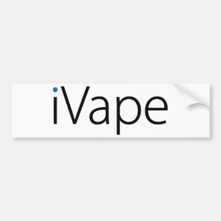 iVape Vaping Electronic Cigarette Fan Bumper Sticker