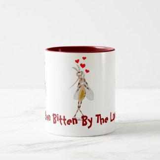 I've Been Bitten By The Lovebug! Two-Tone Coffee Mug