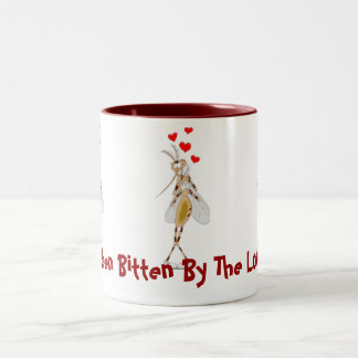 I've Been Bitten By The Lovebug! Two-Tone Coffee Mug