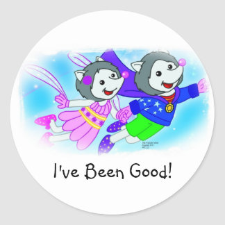 I've Been Good! Classic Round Sticker
