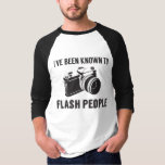 known, flash, people, photography, camera, tshirt,