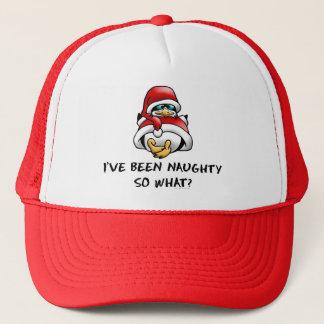 I've Been Naughty, So What? Trucker Hat