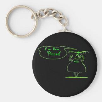 I've Been Pinned oddiz keychain  by davyart
