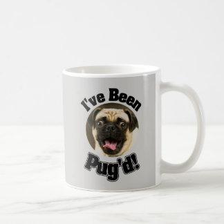 I've Been Pug'd - Funny Pug Mug