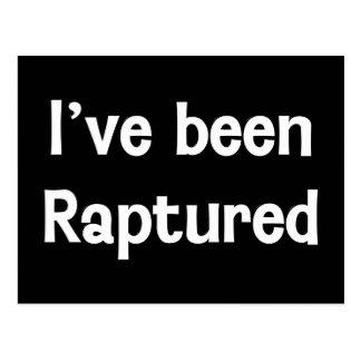 I've Been Raptured Postcard