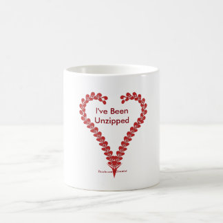 I've Been Unzipped Heart Art Coffee Mug