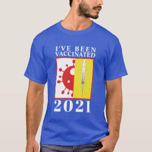 Barista Shirt Caffeinated Vaccinate Tshirt Pro Vaccine Tee Covid Bartender Shirt Vaxxed Vaccination gift Vaccine Shirt Public Health