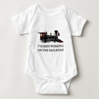 I've Been Working On The Railroad T Shirt