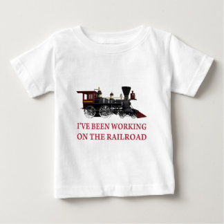 I've Been Working On The Railroad Tee Shirt