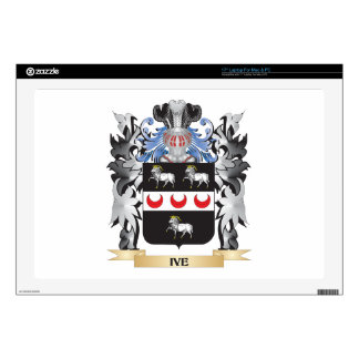 Ive Coat of Arms - Family Crest Decal For Laptop