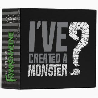 I've Created a Monster 3 Ring Binder
