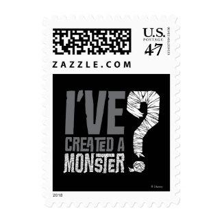 I've Created a Monster Postage Stamp
