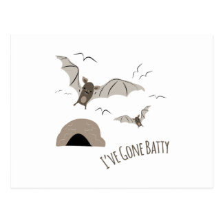 Ive Gone Batty Postcard