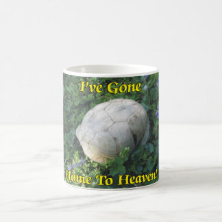 I've Gone Home To Heaven Turtle Shell Coffee Mug