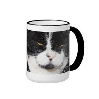 I've got a CATTITUDE! Black and White Cat Mug