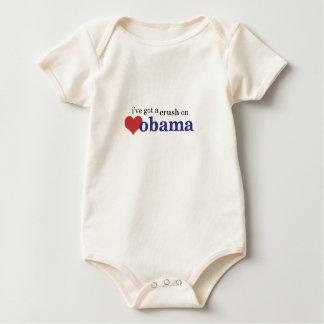 I've got a crush on Obama...baby too! Creeper