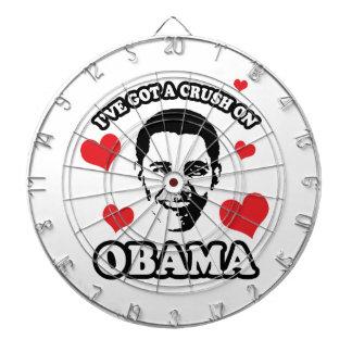 I'VE GOT A CRUSH ON OBAMA -.png Dartboard