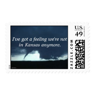 I've got a feeling we're not in Kansas Postage