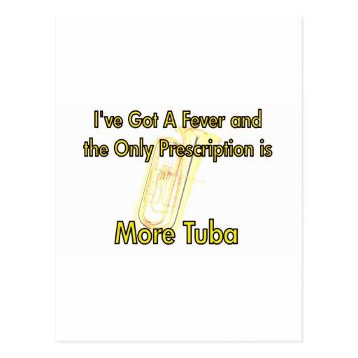 I've Got a Fever . . . More Tuba Postcard
