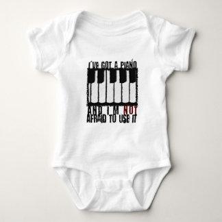 I've Got a Piano Baby Bodysuit