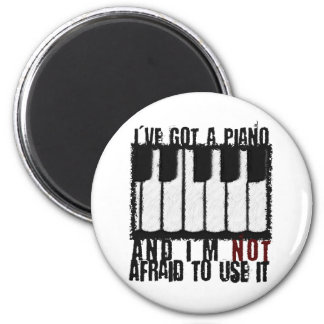 I've Got a Piano Magnet