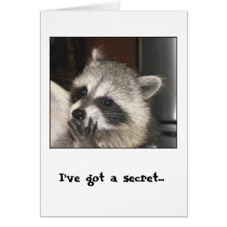 I've got a Secret Card