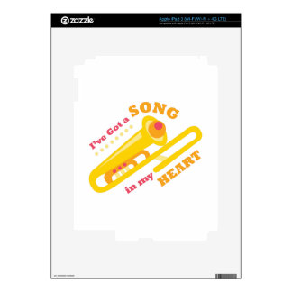 Ive Got A Song Skins For iPad 3