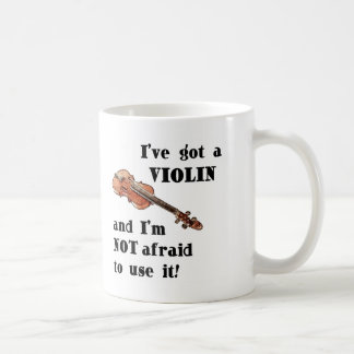 I've Got a Violin Classic White Coffee Mug