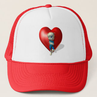 i've got an eye on you trucker hat