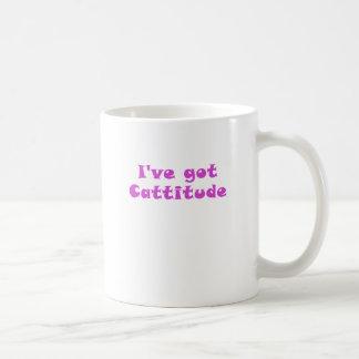 Ive Got Cattitude Mugs