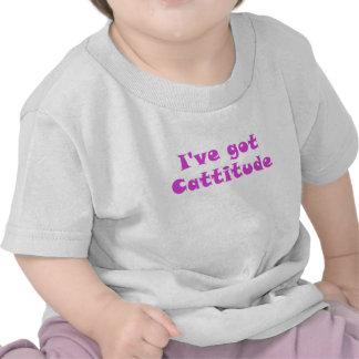 Ive Got Cattitude T Shirt