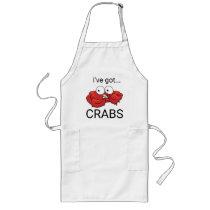 I've Got Crabs Long Apron