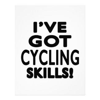 I've Got Cycling Skills Letterhead