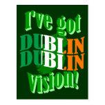 I've got Dublin vision Postcard